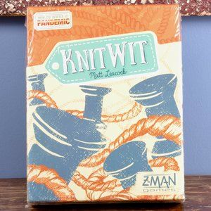 Knit Wit Board Game by Matt Leacock New in Shrink